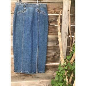 Vintage Together! Denim Skirt
